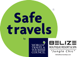 Internationally recognized SAFE TRAVEL stamp/seals for Tourism industry