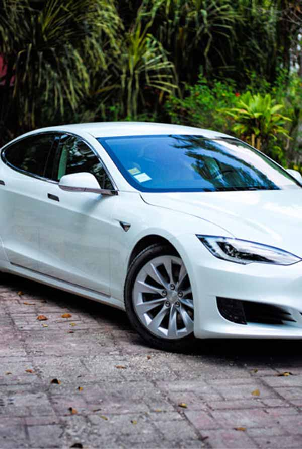 First Tesla In Belize At Belize Boutique Resort and Spa