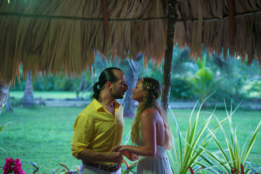 Marriage Proposal at Belize Boutique Resort and Spa