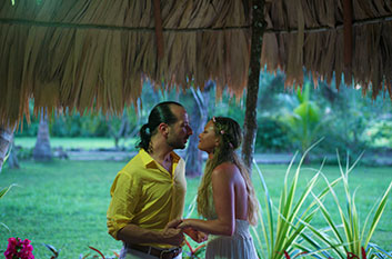 Marriage Proposal at Belize Boutique Resort and Spa  Belize