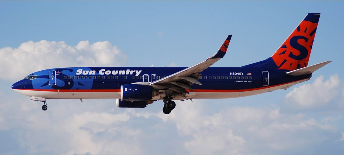 Sun Country Airlines to offer nonstop flights from  Minneapolis to Belize
